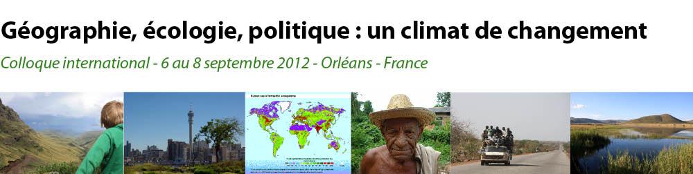 Rencontre ecologie politique